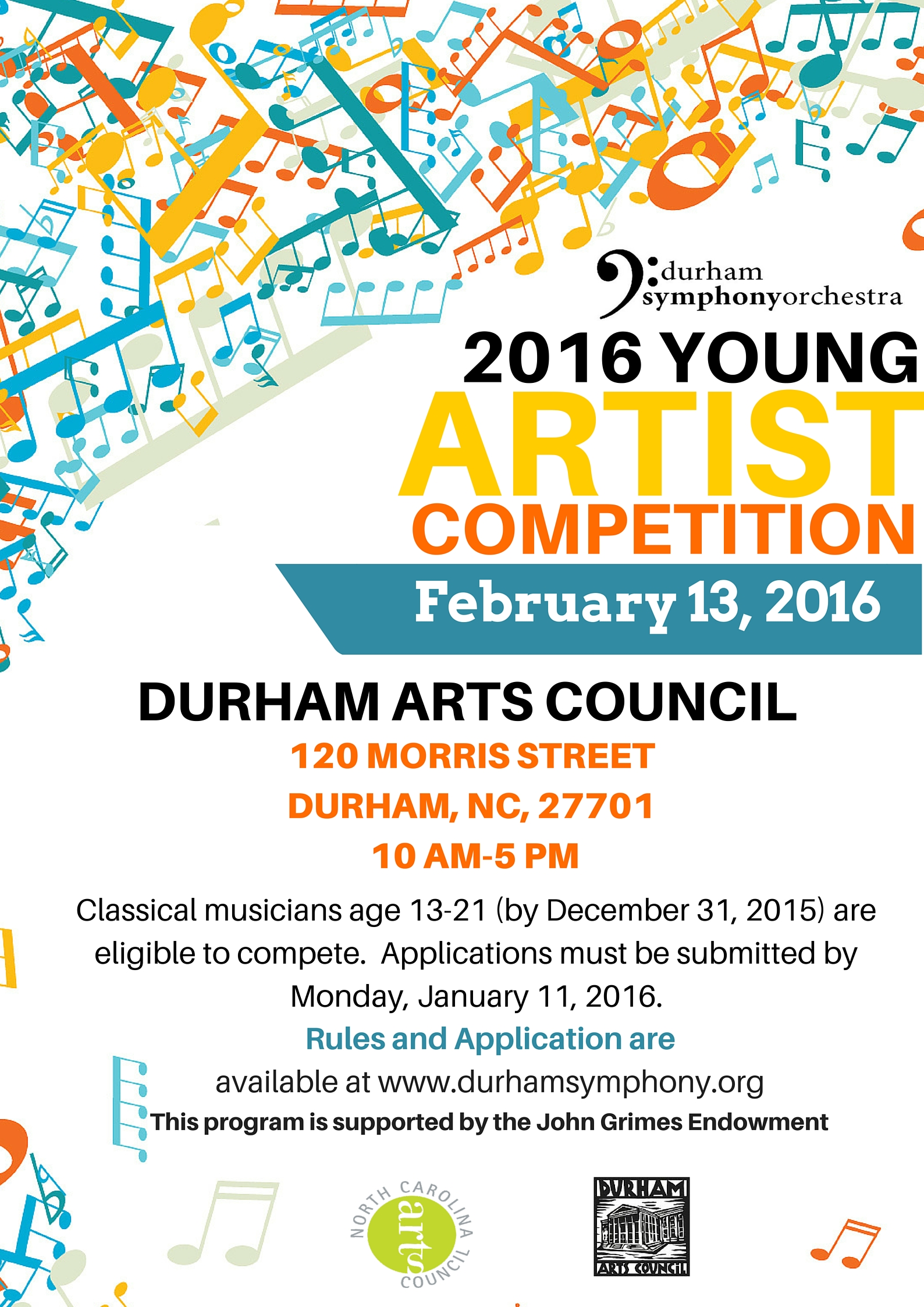 DSO 2016 Young Artist Competition